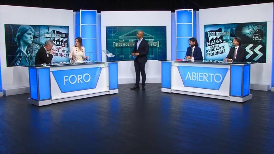 Foro Abierto; Francia: Mayo del 68, medio siglo después