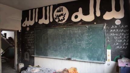 Vídeo: Hallan en Damasco escuela de 'niños terroristas' de EIIL