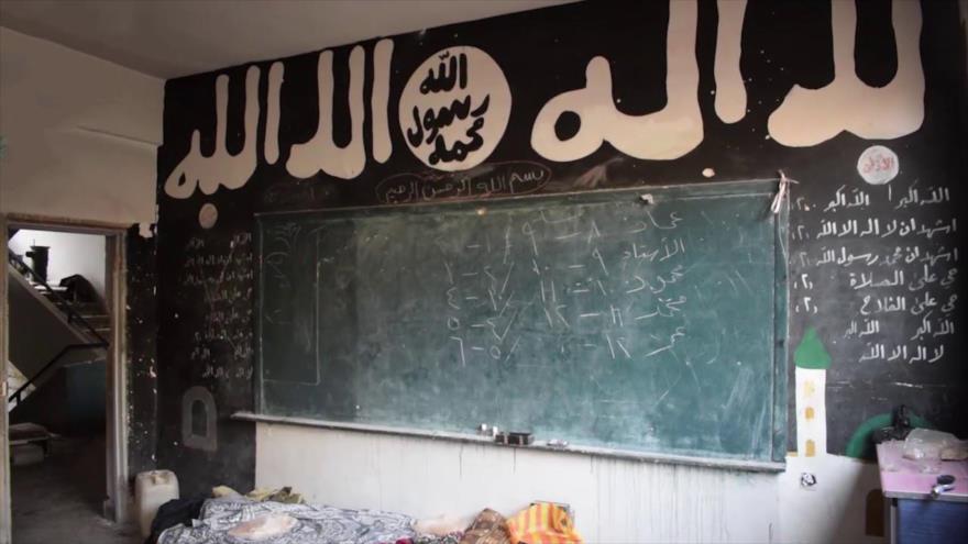 Vídeo: Hallan en sur de Damasco escuela de 'niños terroristas' de Daesh
