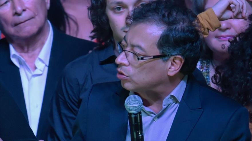 El candidato a la Presidencia de Colombia, Gustavo Petro, 28 de mayo de 2018.