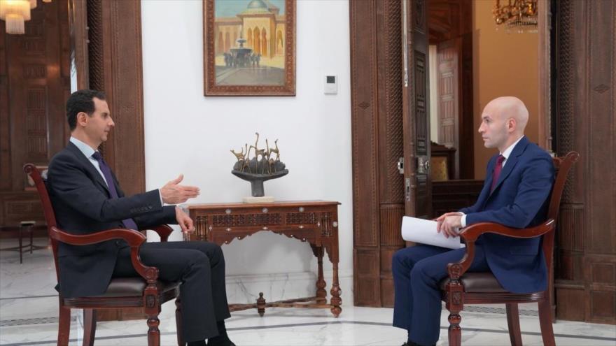 'Eres lo que dices': Así responde Al-Asad a insultos de Trump