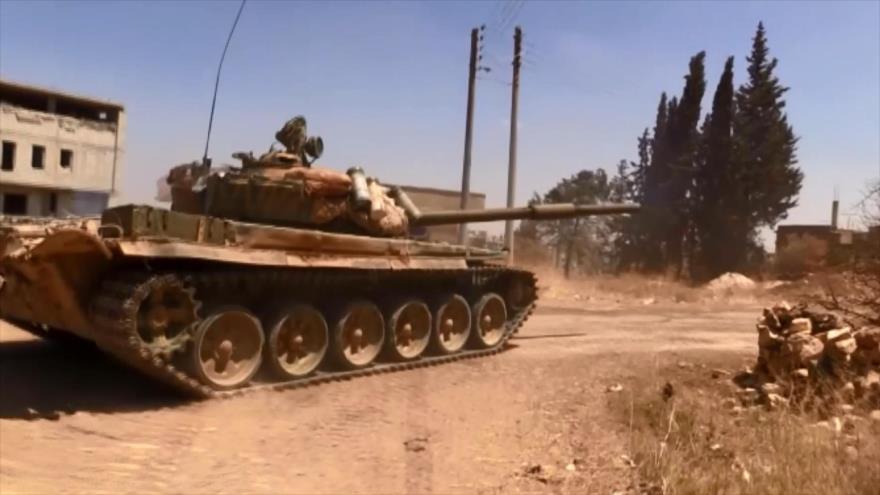 Ejército sirio se prepara para la gran batalla del sur