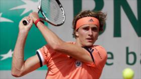 Zverev y Dimitrov, los Top 10 de Roland Garros, avanzan a 3.ª ronda