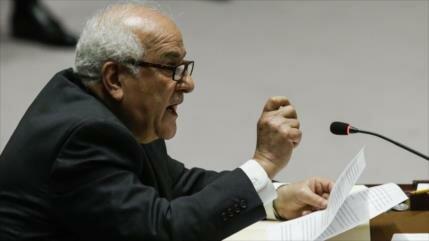 Palestina pide a Consejo de Seguridad condenar crímenes de Israel