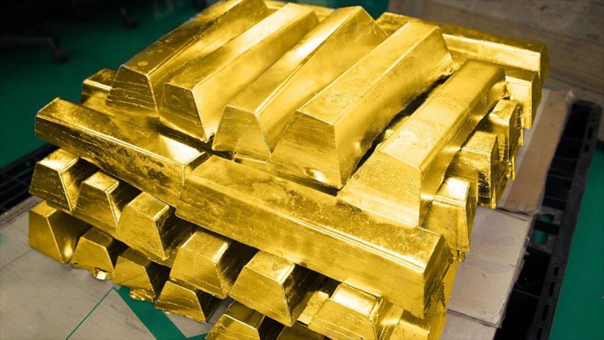 Rusia se convierte en el líder mundial en crecimiento de reservas de oro.