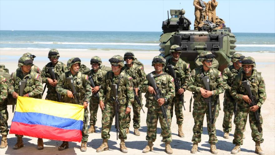 Infantes de la Marina de Colombia.