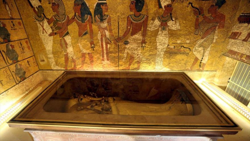 Detectan nuevas 'anomalías' en la tumba del faraón Tutankamón | HISPANTV