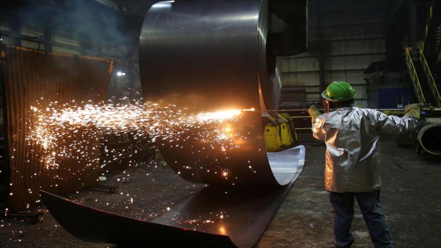 Una planta de acero, Pensilvania (Estados Unidos), 9 de marzo de 2018.
