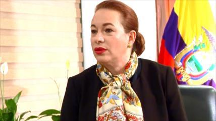 Sismo político en Ecuador por candidatura de Espinosa a la AGNU