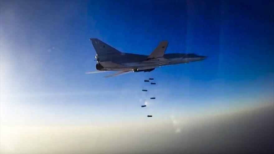 Aviones rusos atacan a terroristas en Idlib pese a presencia turca