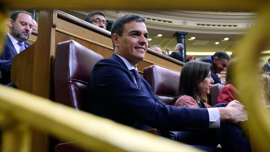 El nuevo presidente del Gobierno de España, Pedro Sánchez, 1 de junio de 2018.