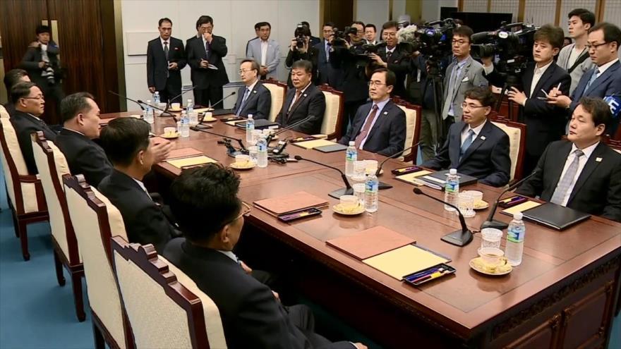 Pyongyang y Seúl realizan nueva ronda de conversaciones de alto nivel