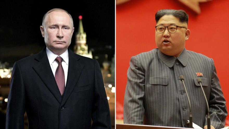 Rusia confirma una cumbre este año entre Putin y Kim Jong-un