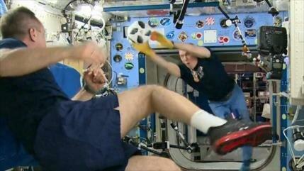 Vídeo: ¡El Mundial de 2018 también se celebrará en el espacio!