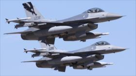 EEUU envía gran contingente militar con 18 cazas F-16 a Polonia