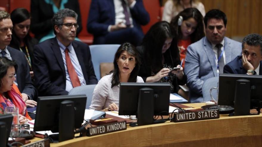 EEUU veta resolución en CSNU para la protección de palestinos