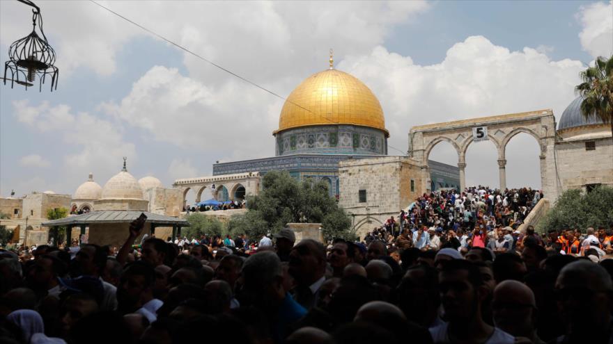 """""""Encuentren un lugar para sionistas, los palestinos tienen patria"""""""