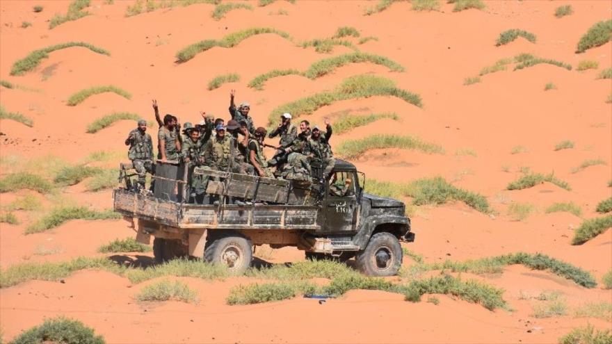 Fuerzas sirias se movilizan para atacar a Daesh en el este