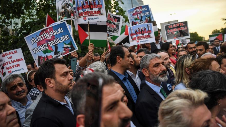 Turquía condena veto de EEUU a resolución en apoyo de palestinos