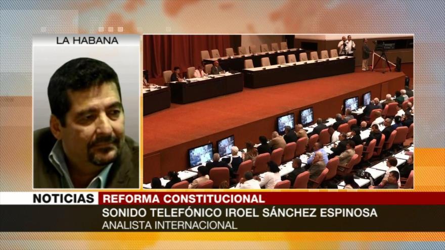 Iroel Sánchez: Reforma constitucional actualiza economía cubana