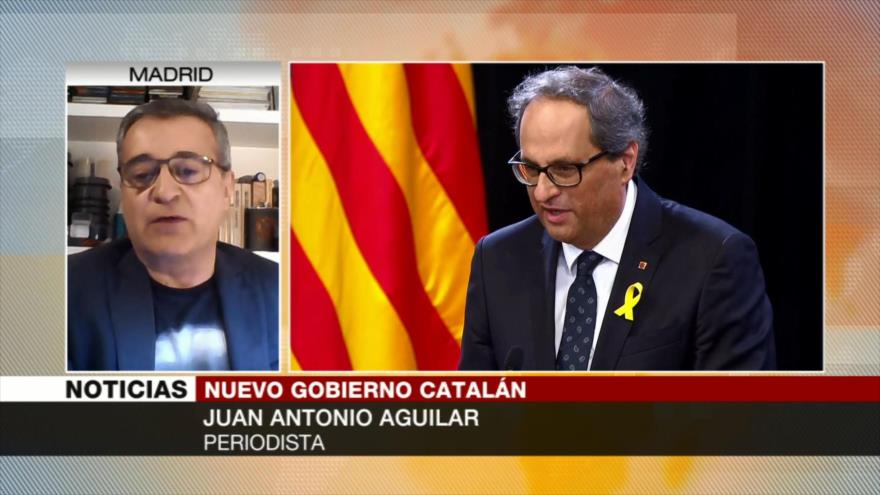 Antonio Aguilar: Cataluña va a hablar de hacer República