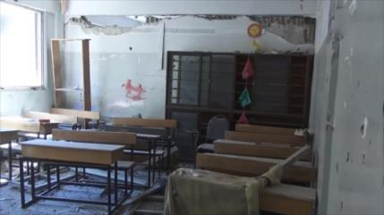 Vídeo: hallan centro de entrenamiento de niños de EIIL en Damasco