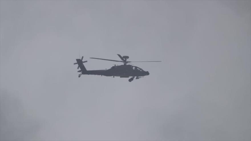 Yemeníes derriban helicóptero saudí y matan a 40 mercenarios