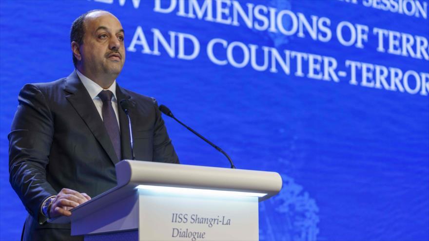 Catar alerta a 'terceros' del peligro de entrar en guerra con Irán