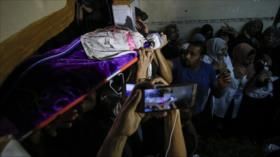 'Muerte de enfermera palestina, mancha de vergüenza para Israel'