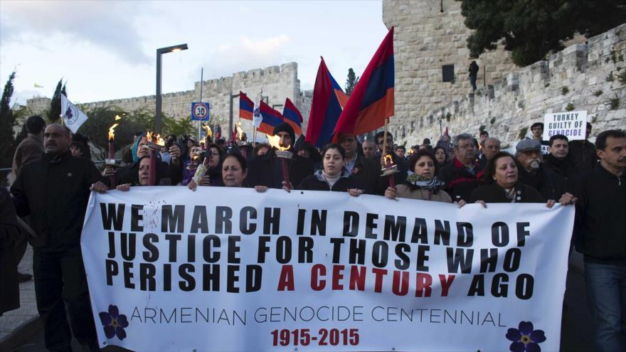 Israel aplaza votación para reconocer el 'genocidio armenio'