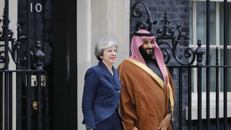 May al príncipe saudí: Londres pretende cumplir acuerdo nuclear iraní
