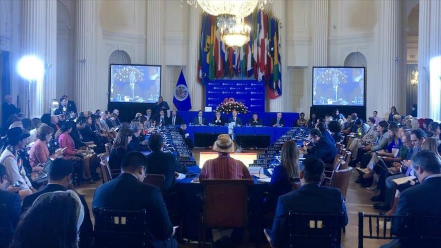 EEUU logra apoyo en OEA para desconocer la reelección de Maduro