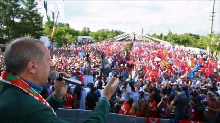 Kurdos, epicentro de campañas de oficialismo y oposición en Turquía