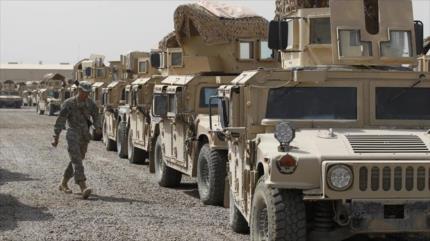 EEUU construye una base en Irak para vigilar frontera siria