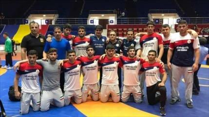 Irán se corona campeón del mundo de lucha libre en Rumania