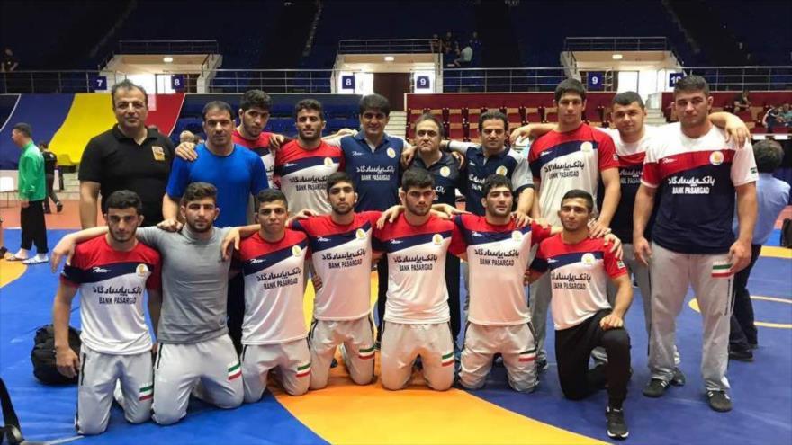 Irán se corona campeón del mundo de lucha libre en Rumania | HISPANTV