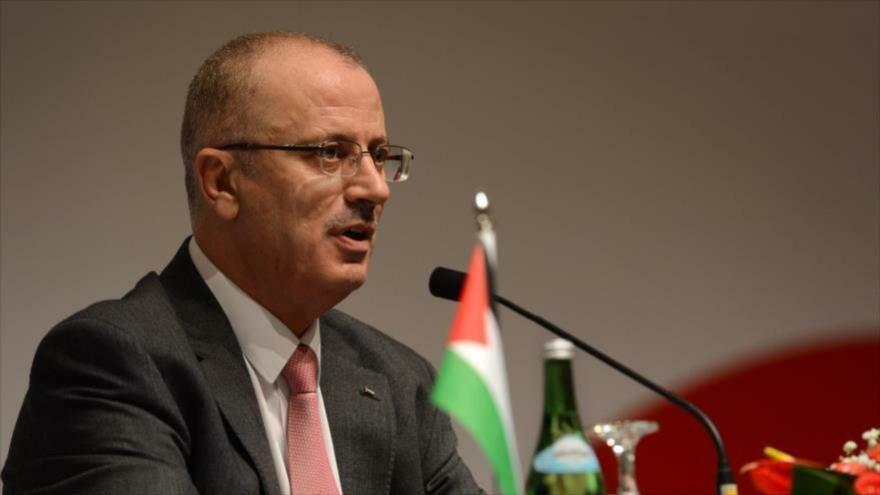 El primer ministro palestino, Rami Hamdalá.