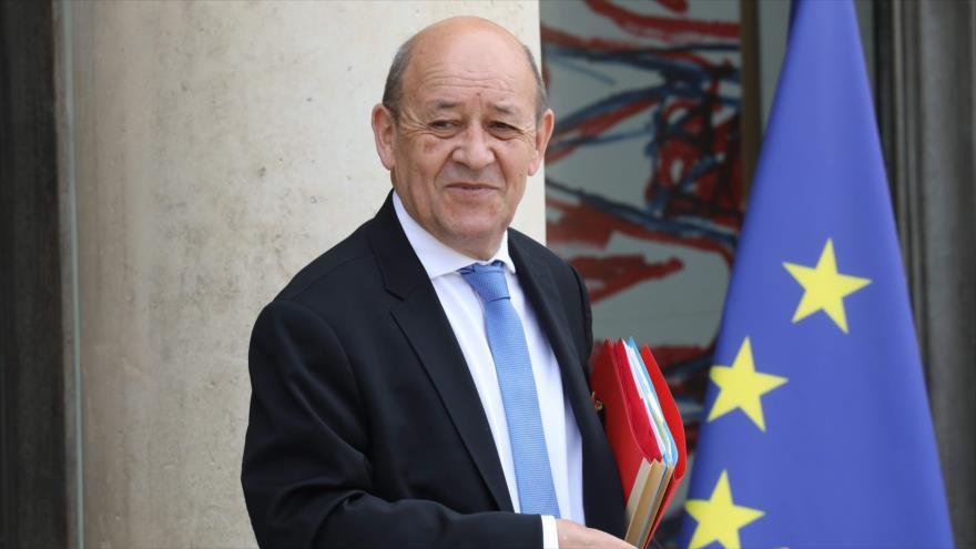 Canciller francés promete mantenimiento de pacto nuclear con Irán