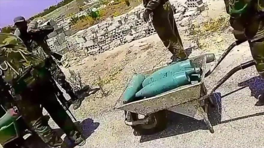Vídeo: Ejército sirio atraviesa líneas terroristas en operación en Idlib
