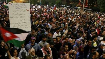 Siguen en Jordania las protestas contra las políticas del Gobierno