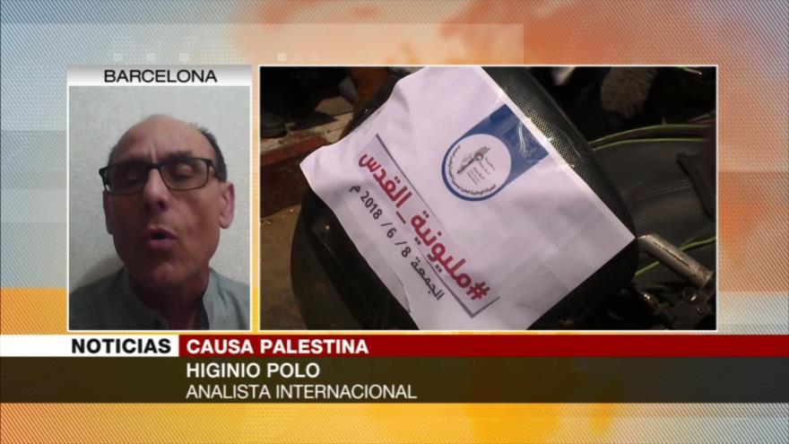 Higinio Polo: Resistencia de palestinos arruinará agresiones israelíes