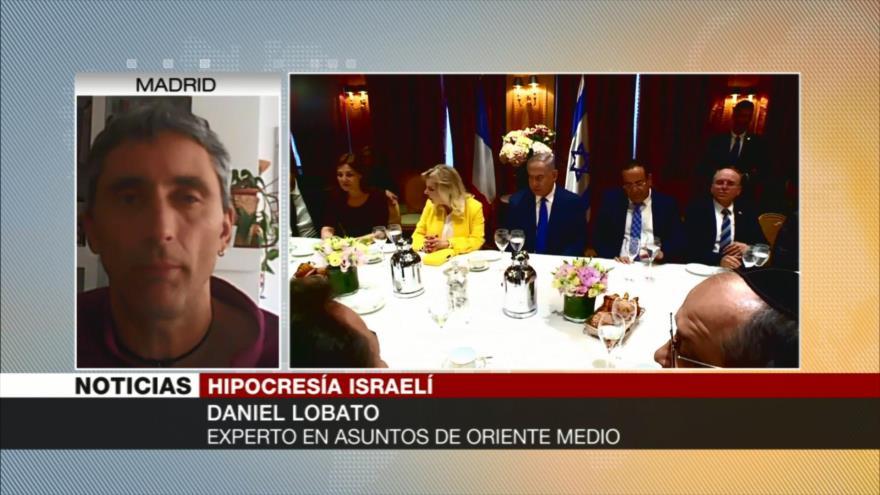 Daniel Lobato: Armas nucleares de Israel amenazan a la humanidad