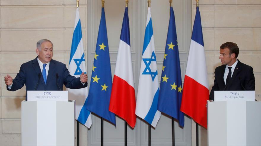 Netanyahu llama a 'ejercer la máxima presión' contra Irán