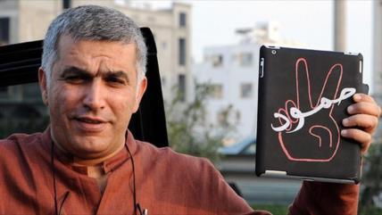 Baréin confirma condena a 5 años de cárcel a activista Nabil Rayab