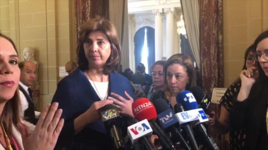 Colombia respalda la suspensión de Venezuela de la OEA