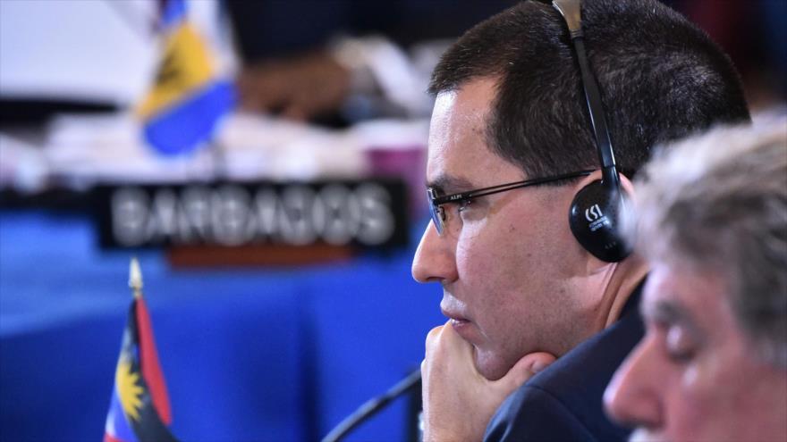Caracas condena resolución de OEA y denuncia sanciones