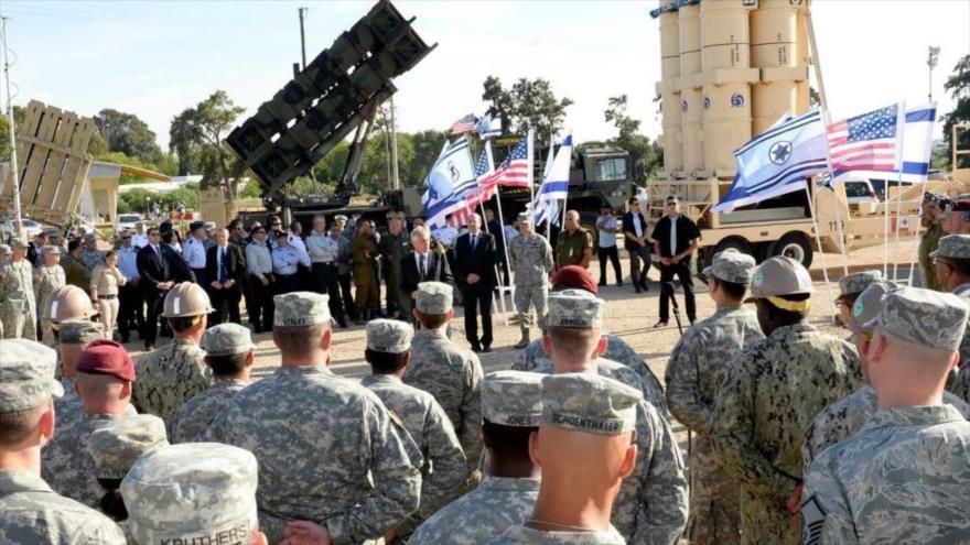'EEUU refuerza presencia militar en territorios ocupados palestinos'