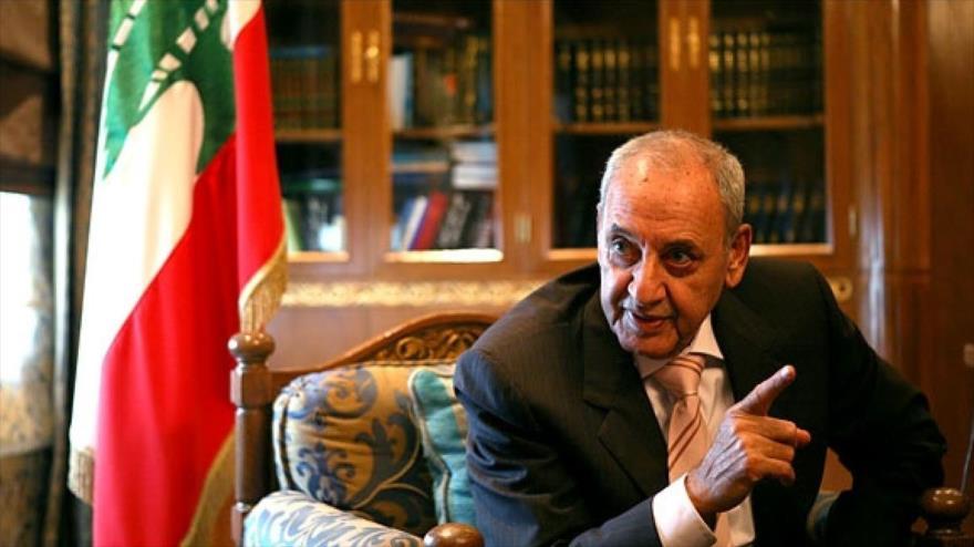 Nabih Berri: Irán y Hezbolá no saldrán de Siria hasta plena liberación