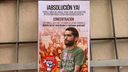 Activista se enfrenta a cárcel por grabar abuso policial en España