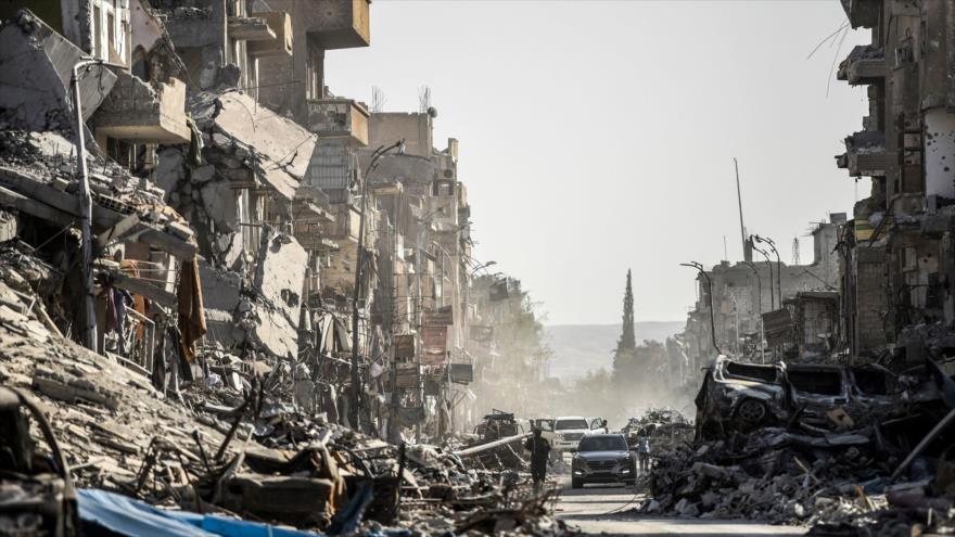 Rusia repudia crímenes de coalición de EEUU en ciudad siria de Al-Raqa